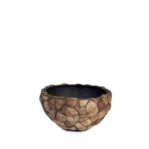 Bosco Bowl Brown Coconut