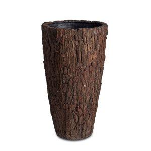 Bosco Vase Brown Bark