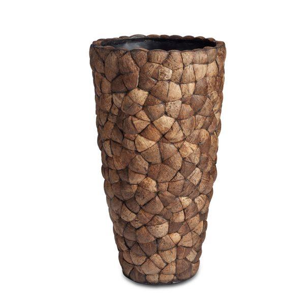 Bosco Vase Brown Coconut