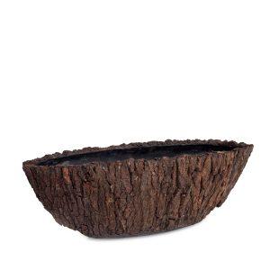 Bosco Oval Brown Bark