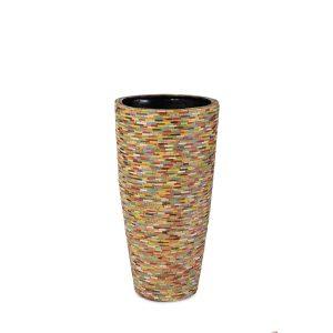 Caribbean Vase Colored