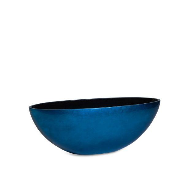 Vita Oval Dark Blue
