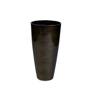 Vita Stripes Vase Bronze