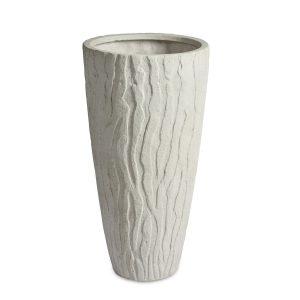 Pattern Vase White