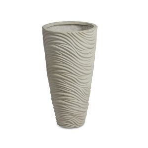 Graphic Vase White