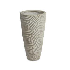 Graphic Vase White