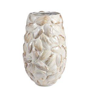 Samar Vase White